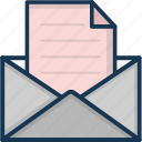email, envelope, letter, letter envelope, message icon