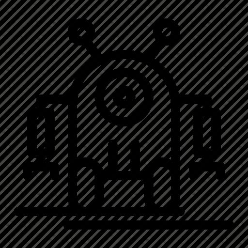 digital, human, marketing, robot, robotic, technology icon