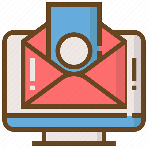 commerce, digital, email, marketing, money, seo, website icon