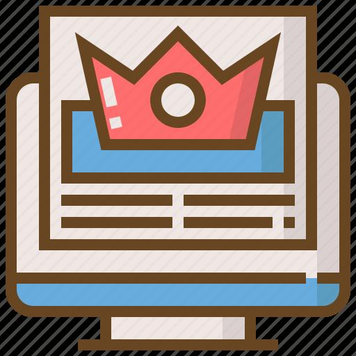 commerce, digital, marketing, rating, seo, technology, website icon