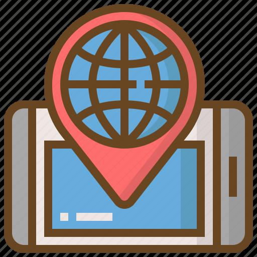 commerce, digital, global, marketing, seo, technology, website icon