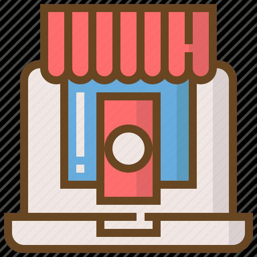 commerce, digital, marketing, seo, shopping, technology, website icon