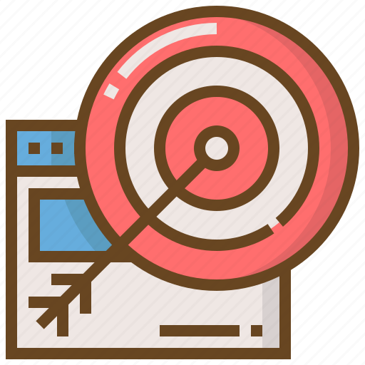 commerce, digital, marketing, seo, target, technology, website icon