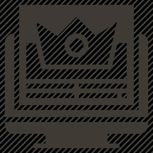 commerce, digital, management, market, marketing, rating, solid icon