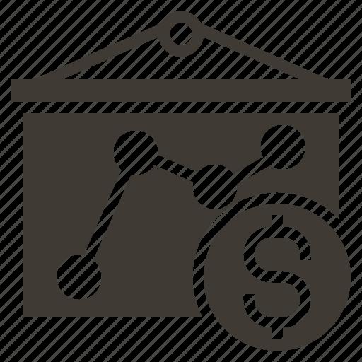 analysis, commerce, digital, management, market, marketing, solid icon