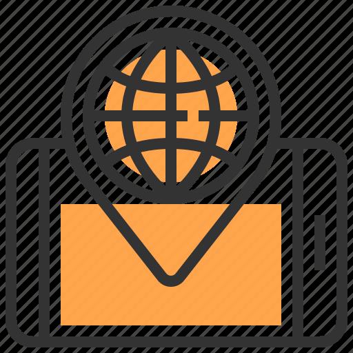 advertising, commerce, digital, global, internet, marketing, website icon