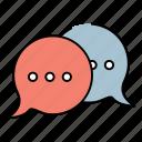 social, chat, share, sharing