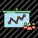 analysis, graph, marketing, profile, user icon