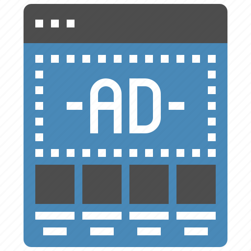 Ad, banner, landing, marketing, page, template, web icon - Download on Iconfinder