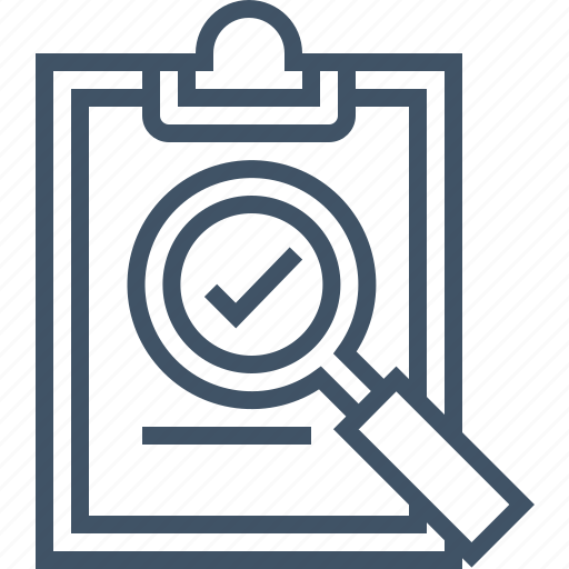approve, audit, check, digital, marketing, refinement icon