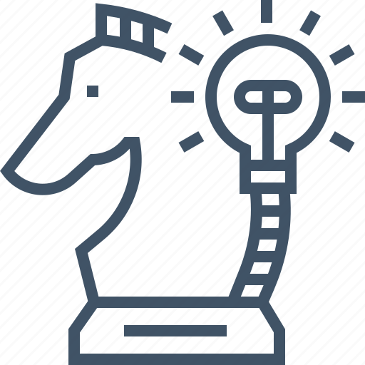 analytics, business, chess, idea, online, planning, strategy icon
