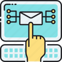 blast, direct mail, edm, electronic direct mail, email, email marketing, marketing icon