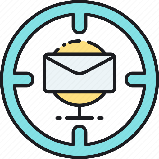 edm, electronic direct mail, email, email marketing, marketing icon