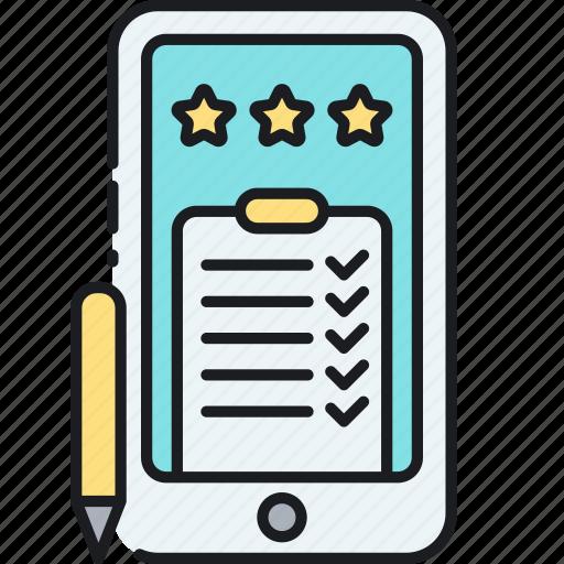 mobile questionnaire, mobile survey, online questionnaire, online survey, questionnaire, survey icon