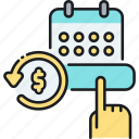 finance, freemium, plan, schedule, sign up, subscription model icon