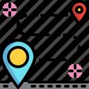delivery, journey, tourism, transport, transportation, travel icon