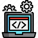 coding, design, developer, html, programmer, web icon