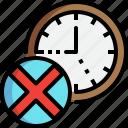 no, to, nine, time, five, clock