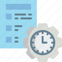 clock, date, event, hour, management, schedule, time icon
