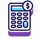business, calculate, expand, finance, marketing, payment, sales icon