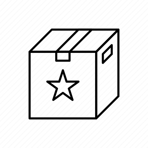 box, bundle, collection, favourites, pack, package, present icon