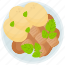 bread salad, panzanella, panzanella salad, potato salad, salad icon
