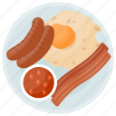 high protein, protein diet, protein meal, protein source, sausages icon