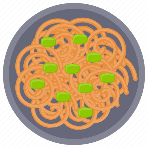 Chinese noodles, italian cuisines, noodles, pasta, spaghetti icon - Download on Iconfinder
