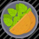 baked nacho, baked taco, nacho, taco, taco bread icon