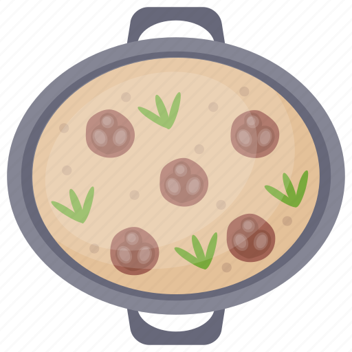 Crust pizza, homemade pizza, italian cuisine, meatball pizza, pizza icon - Download on Iconfinder