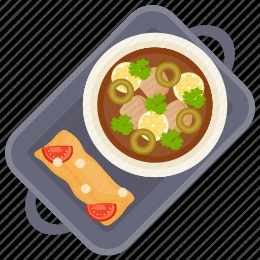 asian food, gravy, jamie's gravy, olive curry, olive gravy icon