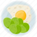 breakfast, breakfast food, egg, healthy breakfast, protein diet icon