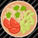 italian pasta, macaroni, macaroni salad, noodles, pasta icon