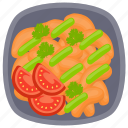 cheese croquettes, chicken croquettes, croquettes, fried snacks, nuggets icon