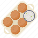 asian food, chicken cutlets, cutlets, indian cuisine, vegetable cutlets icon