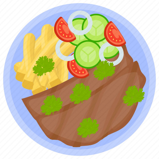 beef fillet, beef jerky, beef steak, hunter beef, meat icon