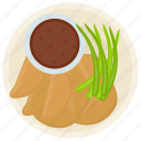 baked potatoes, carbohydrates diet, potato sticks, potato wedges, vegetable cuisine icon