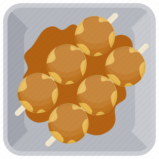 dinner food, meat, meat balls, minced meat, snacks icon