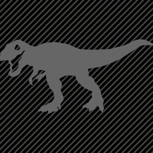 dinosaur, jurassic, rex, t, t rex, tyrannosaurus icon