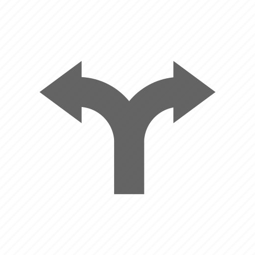 arrow, direction, turning icon