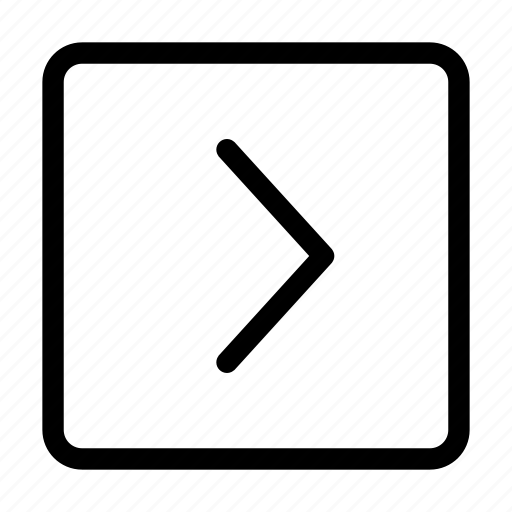 arrow, direction, go, next, right icon