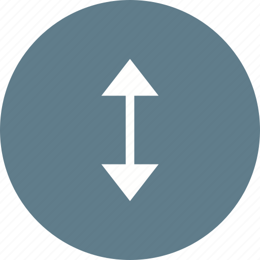 Arrow, arrows, direction, double, down, side, up icon - Download on Iconfinder