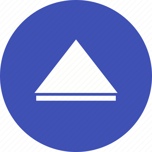 arrow, design, direction, pointer, round, sign, up icon