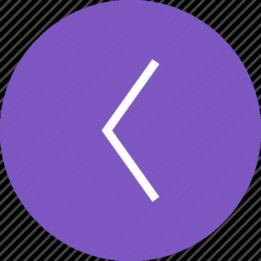 arrow, direction, indication, internet, left, navigation icon