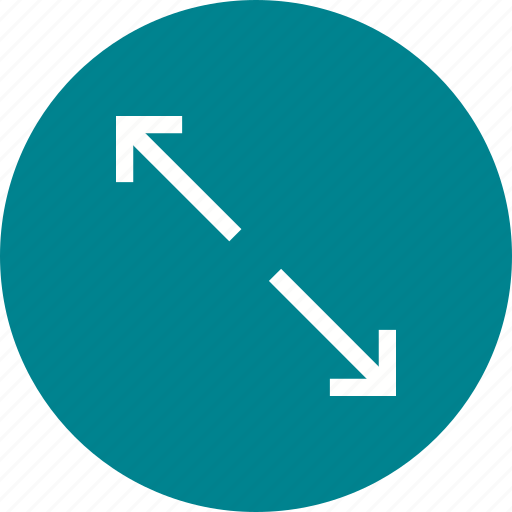 adjust, circle, control, fit, monitor, screen, share icon
