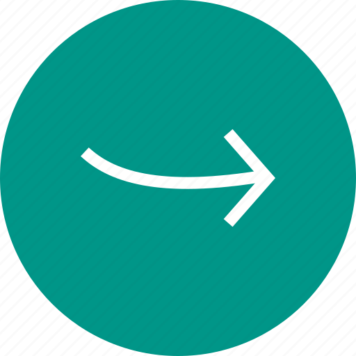 arrow, direction, indication, internet, navigation, right, sign icon