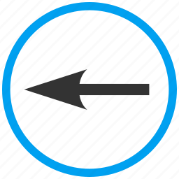compass arrow, cursor, left, move, navigate, navigation, pointer icon