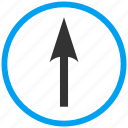 compass arrow, cursor, move, navigate, navigation, pointer, up icon
