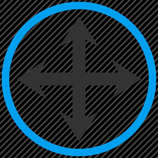 arrows, direction, expand, full screen, fullscreen, maximize, resize icon