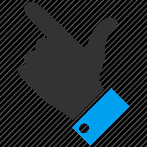 cursor, hand, index finger, left up, move, navigation, pointer icon